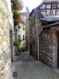 Smal straatje in Beilstein