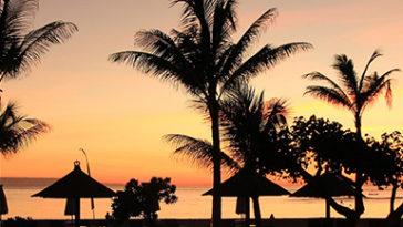 Uitzicht in Indonesië