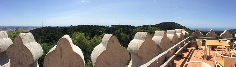 Uitzicht vanaf Palacio da Pena