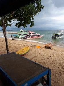 Boot naar Nusa Lembongan