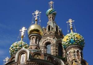 Kerk van de Verlosser op het bloed in Sint Petersburg