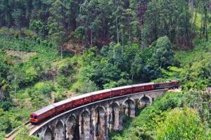 Met de trein door Sri Lanka