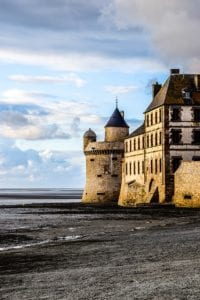 Mont Saint-Michel strand