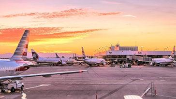 Vakantiegevoel vliegveld