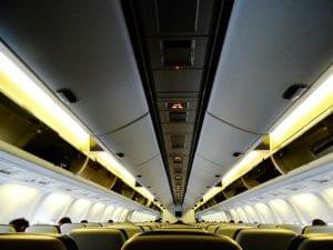 Vliegtuigstoelen