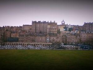 Solo reis naar Edinburgh