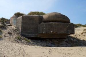 Bunker in Duinkerken in Nord-Pas-de-Calais