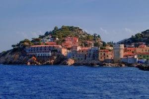 Eiland Elba Italië