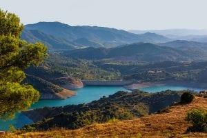 Het Spaanse landschap