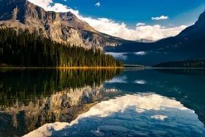 Meer en bergen in Canada