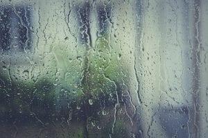 Wat als het buiten regent?