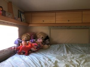slaapkamer tess camper