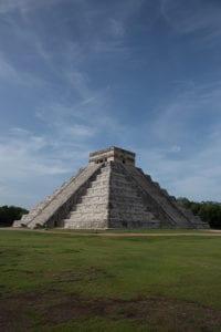 Piramide van Kukulcan in Chitzén Itzá