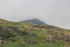 Top van de berg Snowdon