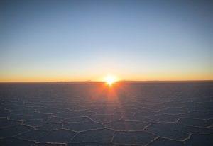 Zoutmeren van Salar de Uyuni