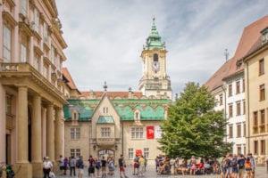 Centrale plein en het Oude Raadhuis