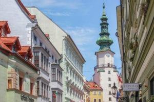 Michael's poort in Bratislava