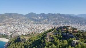 Uitzicht over Alanya