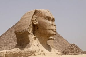 Sphinx in Egypte