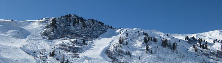 Populaire wintersportgebieden