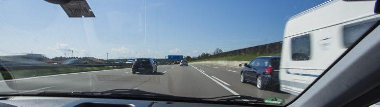 Autorijden op de Duitse snelweg