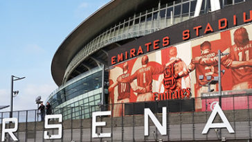 Arsenal Emirates stadion