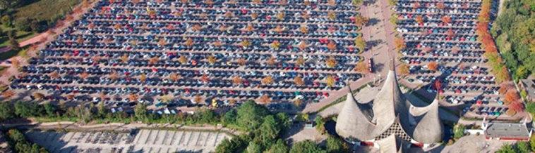 Efteling parkeerplaats