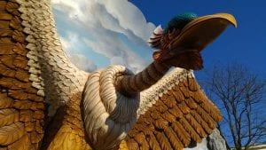 Vogel Rok Efteling attractie